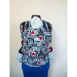 Эрго-рюкзак с принтом Di Sling - Надпись