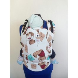 Эрго-рюкзак с принтом Di Sling - Медведи