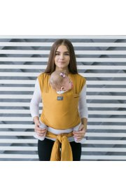 Трикотажный слинг-шарф Love & Carry - Мёд