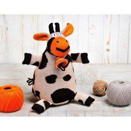 Вязаная игрушка  Корова Карамелька