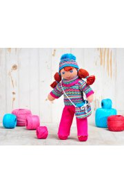 Кукла Софи в зимнем комплекте