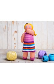 Эко игрушка - Кукла Таша вязаная