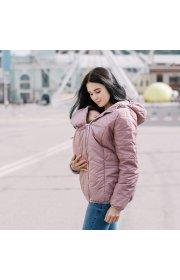 Демисезонная слингокуртка 3в1 - Розовая