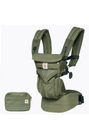 Эрго рюкзак Ergo baby Omni 360 Baby Carrier: Cool Air Mesh-Khaki Green