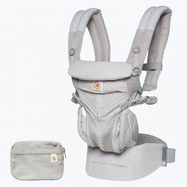 Эрго рюкзак Ergo baby Omni 360 Baby Carrier: Cool Air Mesh-Pearl Grey