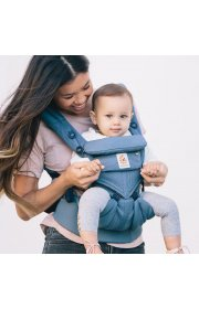 Эрго рюкзак Ergo baby Omni 360 Baby Carrier Cool Air Mesh - Oxford Blue