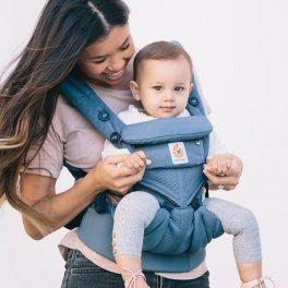 Эрго рюкзак Ergo baby Omni 360 Baby Carrier Cool Air Mesh - Oxford Blue