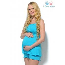 Комплект для сна Мия бирюза для беременных и кормящих