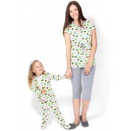 Пижама Бэмби желтая детская I love mum