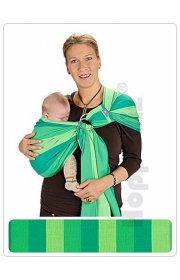 Слинг с кольцами -  Лима Lima HOPPEDIZ (светло-зеленый/зелёный/изумрудный)