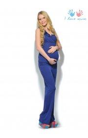 Комбинезон Мальдивы т. синий для беременных и кормящих