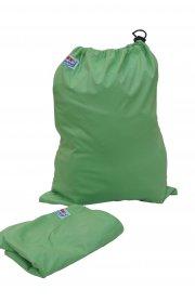 Сумка для хранения подгузников на завязках - Салатовая