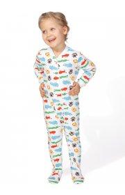 Пижама Бэмби веселые зверята детская I love mum