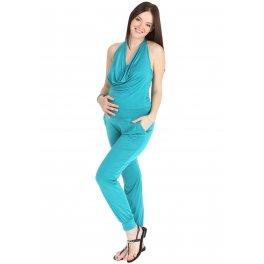 Комбинезон КП01 изумруд для беременных и кормящих