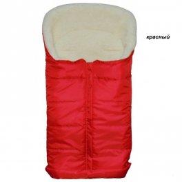 Очень теплый конверт Kinder comfort arctic -красный