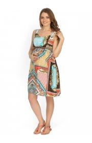 """Сарафан """"Кейти"""" с платочным принтом для беременных и кормящих"""
