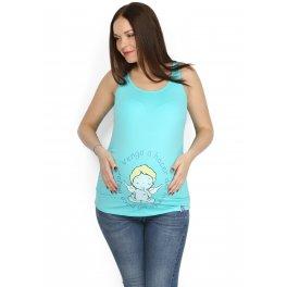 Майка Саша св. бирюза для беременных