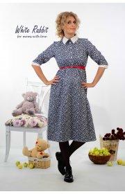 Платье для беременных и кормящих мам Ибби Миди