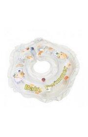 Круг на шею  для купания грудничков Babyswimmer - прозрачный