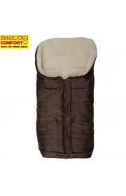 Очень теплый конверт Kinder comfort arctic -шоколад