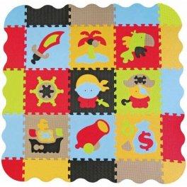 Детский коврик-пазл - Приключения пиратов - большой