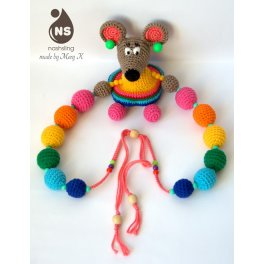 Слингобусы-погремушка - Мышка-Хельга