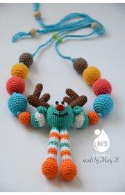 Слингоигрушка - бусы - детское вдохновение