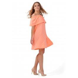 """Платье """"Контент"""" для беременных и кормящих, цвет лососевый"""