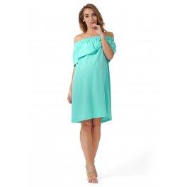 """Платье """"Контент"""" для беременных и кормящих, цвет ментол"""