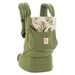 Ergo Baby Carrier органик Zen Gendongan - Лайм