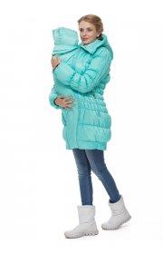 """Куртка 3в1 зимн. """"Исландия"""" аква для беременных и слингоношения"""
