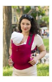 Эрго-рюкзак из шарфовой ткани Сrimson