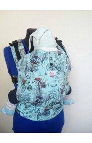 Эргономичный рюкзак с принтом Di Sling Велоспеды бирюза