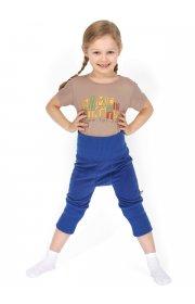 Шаровары флисовые детские Атаман синие