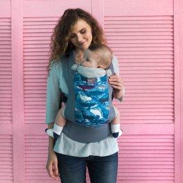 Эрго рюкзак Love & Carry DLIGHT — Киты