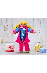 Кукла  Лира в зимнем комплекте
