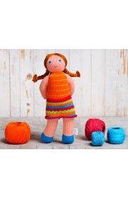 Эко игрушка - Кукла Мандаринка