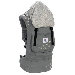 Ergo Baby Carrier Galaxy Grey(серый галактика)