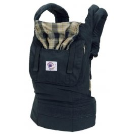 ERGObaby - Organic Highland Navy Plaid Baby Carrier