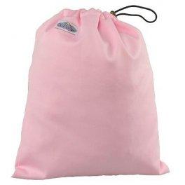 Сумка для хранения подгузников на завязках - Розовая