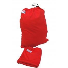 Сумка для хранения подгузников на завязках -красная