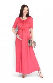Платье Адриана красное для беременных