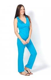 Комбинезон КВ01 бирюза для беременных и кормящих