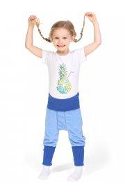 Шаровары флисовые детские Атаман голубые