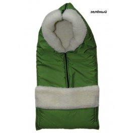 Конверт на овчине Kinder comfort smart - зеленый