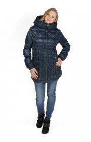 """Куртка демис. 3в1 """"Сандра"""" синяя для беременных и слингоношения"""