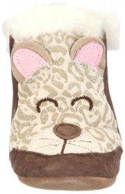 Замшевые детские сапоги на меху - Robeez Soft Soles 3D Snow Leopard Boot
