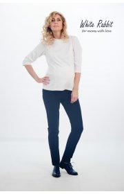 Узкие классические брючки  для беременных - Slim Navy Pants