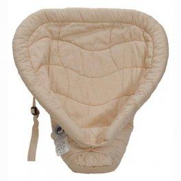 """ERGObaby вставка для новорожденных в рюкзак-переноску """"Сердце к сердцу"""" темный беж"""