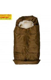 Теплый конверт Kinder comfort arctic - светло-коричневый